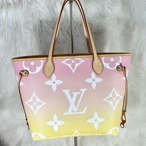 Louis Vuitton Neverfull By The Pool Rose Pink NEW